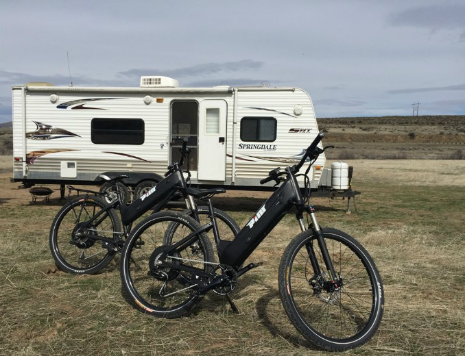 Bicycling with RVs