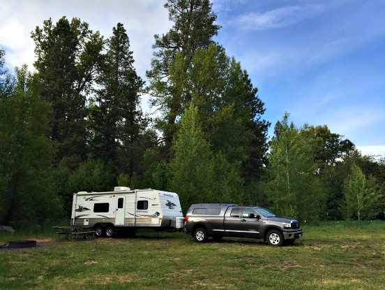 Spacious Campsites at Liberty