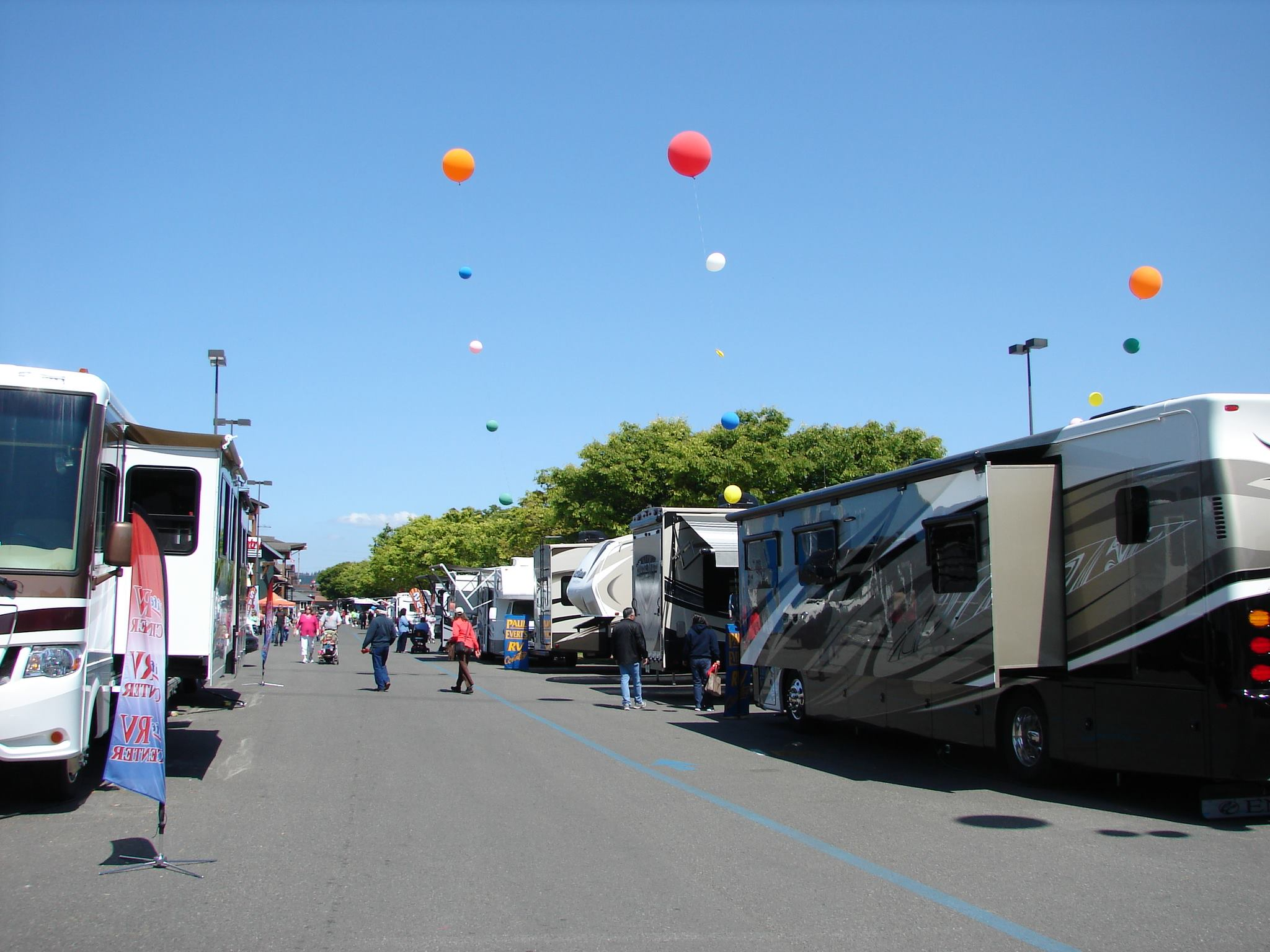 Fun at the Puyallup RV Show
