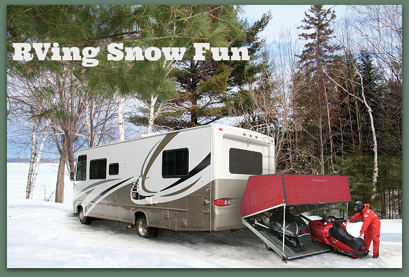 RV Snow Fun